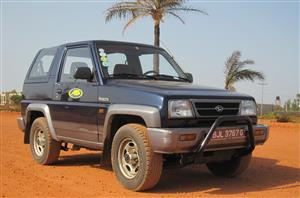 Gambia Car Rental -affordable 4 X 4 -budget.