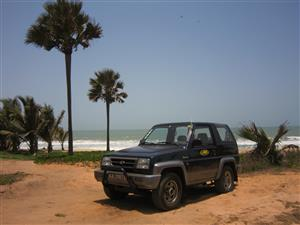 Gambia Car Rental- Affordable 4 x 4 - Budget-